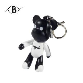 Móc khóa gấu kute, móc khóa balo, túi xách, chìa khóa xe chất liệu nhựa bền đẹp MK01LZ - Thương Hiệu BALO STORE thumbnail