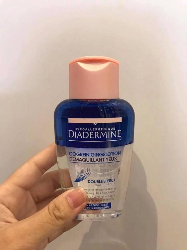 Tẩy trang mắt môi Diadermine nhập khẩu