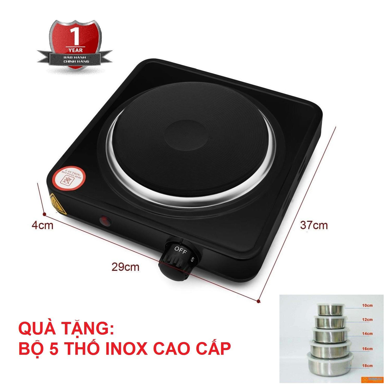 Giá Bếp Điện Đơn Perfect PF-HP789 1000W Tặng Bộ  5 Thố Inox Có Nắp Cao Cấp