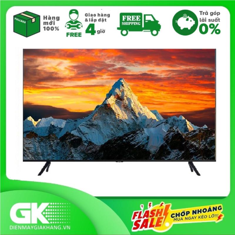 [GIAO HÀNG 2 - 15 NGÀY, TRỄ NHẤT 15.08] [Trả góp 0%]Smart Tivi Samsung 4K 50 inch UA50TU8100 chính hãng