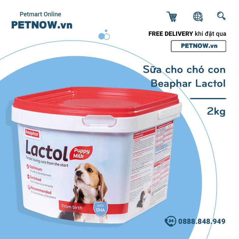 Sữa cho chó con Beaphar Lactol 2kg