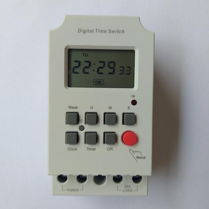Công tắc ổ cắm bộ hẹn giờ thông minh 28 chu kỳ KG316S hẹn giờ tối thiếu 1 giây