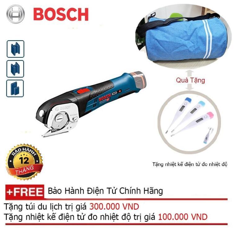 Máy cắt đa năng dùng pin Bosch GUS 12V-300( SOLO) + Quà tặng balo du lịch