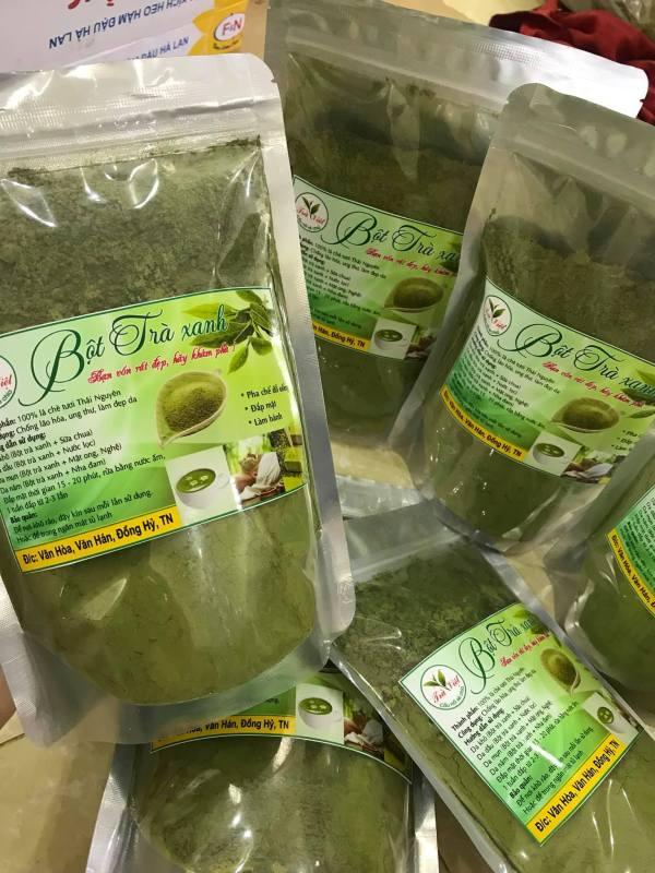 Bột trà xanh 100gram nhập khẩu