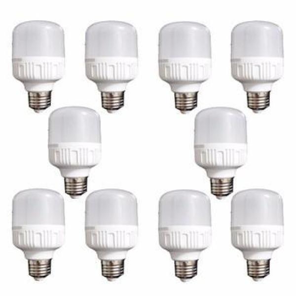 Bộ 10 bóng đèn LED BULD TRỤ công suất 30W (Trắng)