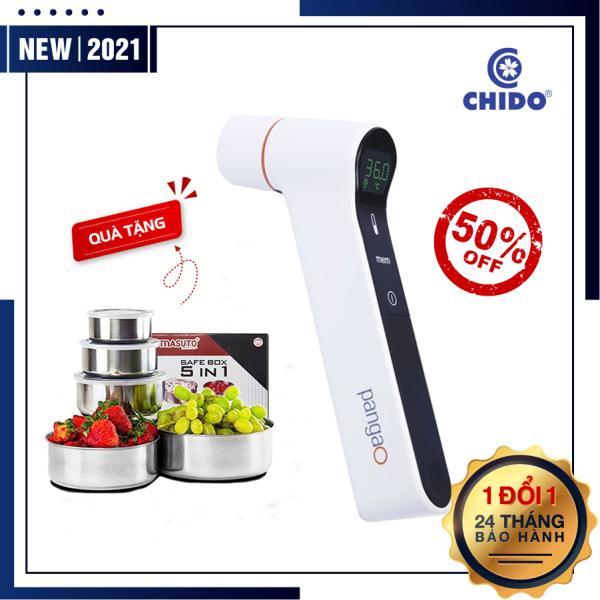 [MUA 1 TẶNG 1] Nhiệt kế điện tử hồng ngoại đo tai đo trán Chido cao cấp an toàn tiêu chuẩn Nhật Bản bán chạy