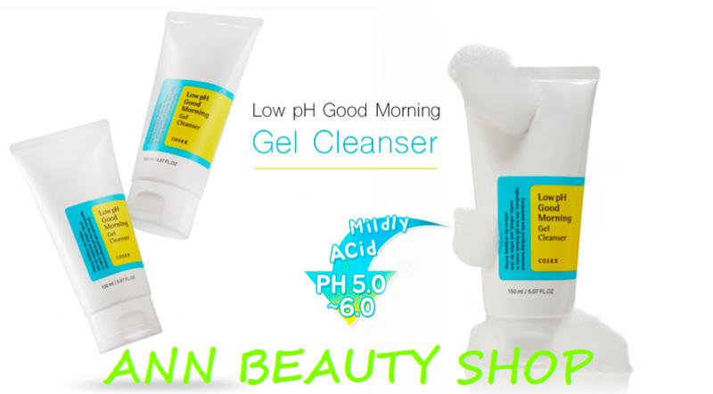 Sữa rửa mặt Cosrx Low pH Good Morning Gel Cleanser 150ml