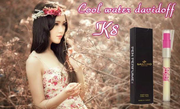 K8 - Nước hoa nữ Sansiro Thổ Nhĩ Kỳ 8ml