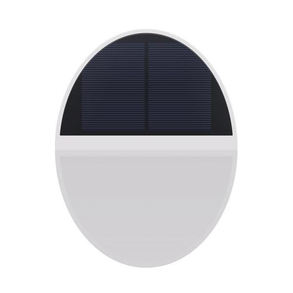 Solar Wall Lamp 48LED Waterproof Anti-rust Microwave Sensor Outdoor Floodlight