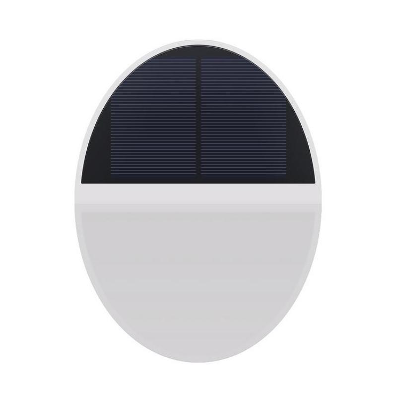 Solar Wall Lamp 48LED Waterproof Anti-rust Microwave Sensor Outdoor Floodlight