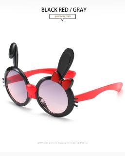 Nikit Kính mát thời trang hình tai thỏ đáng yêu tròng kính hình tròn dành cho trẻ em giá tốt - INTL