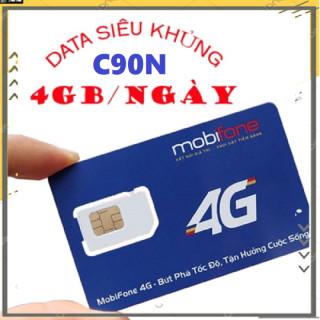 Có Sẵn Tháng Đầu Sim 4G Mobifone C90N tặng 4GB ngày 120GB tháng - Đầu số 07 thumbnail