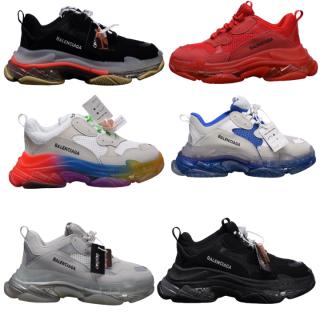 Giày nam sneaker thể thao nam Ba.Len.cia.ga đế khí đế tách phân tầng chuẩn chữ thumbnail