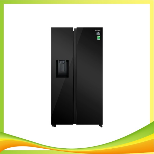 Tủ lạnh Samsung side by side RS64R53012C/SV 660L
