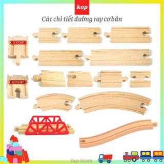 Các chi tiết mở rộng, phụ kiện mô hình đường ray xe lửa gỗ thumbnail