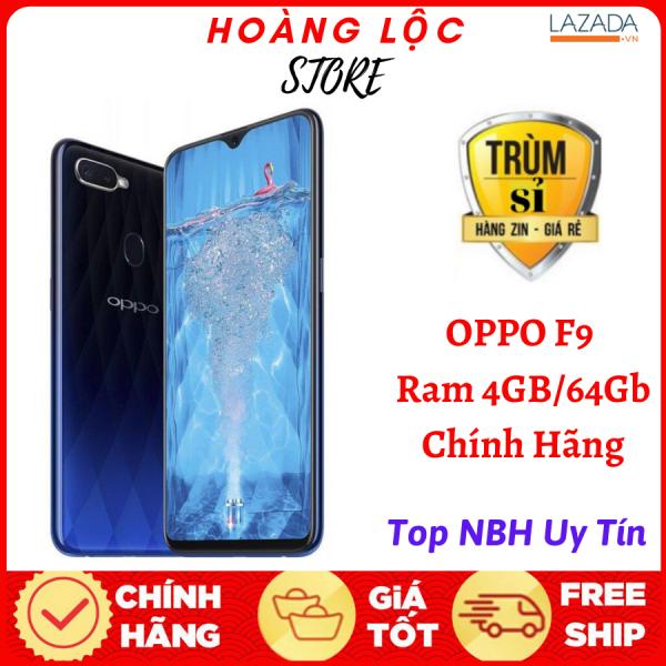 Điện thoại OPPO F9 Pro 2sim Ram 6Gb bộ nhớ 128G Camera Selfie 25MP-Màn hình LTPS LCD, 6.3 , Full HD+ Pin 3500 mAh - Siêu Phẩm Màn hình tràn viền giọt nước bảo hành 1 đổi 1