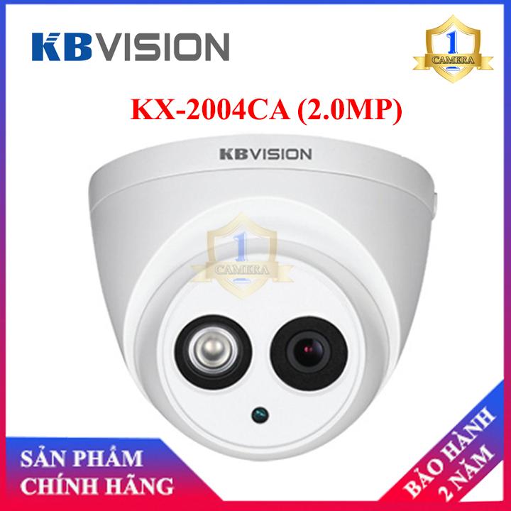 Camera HD-CVI Kbvision KX-2004CA (2.0MP)-Camera Số 1