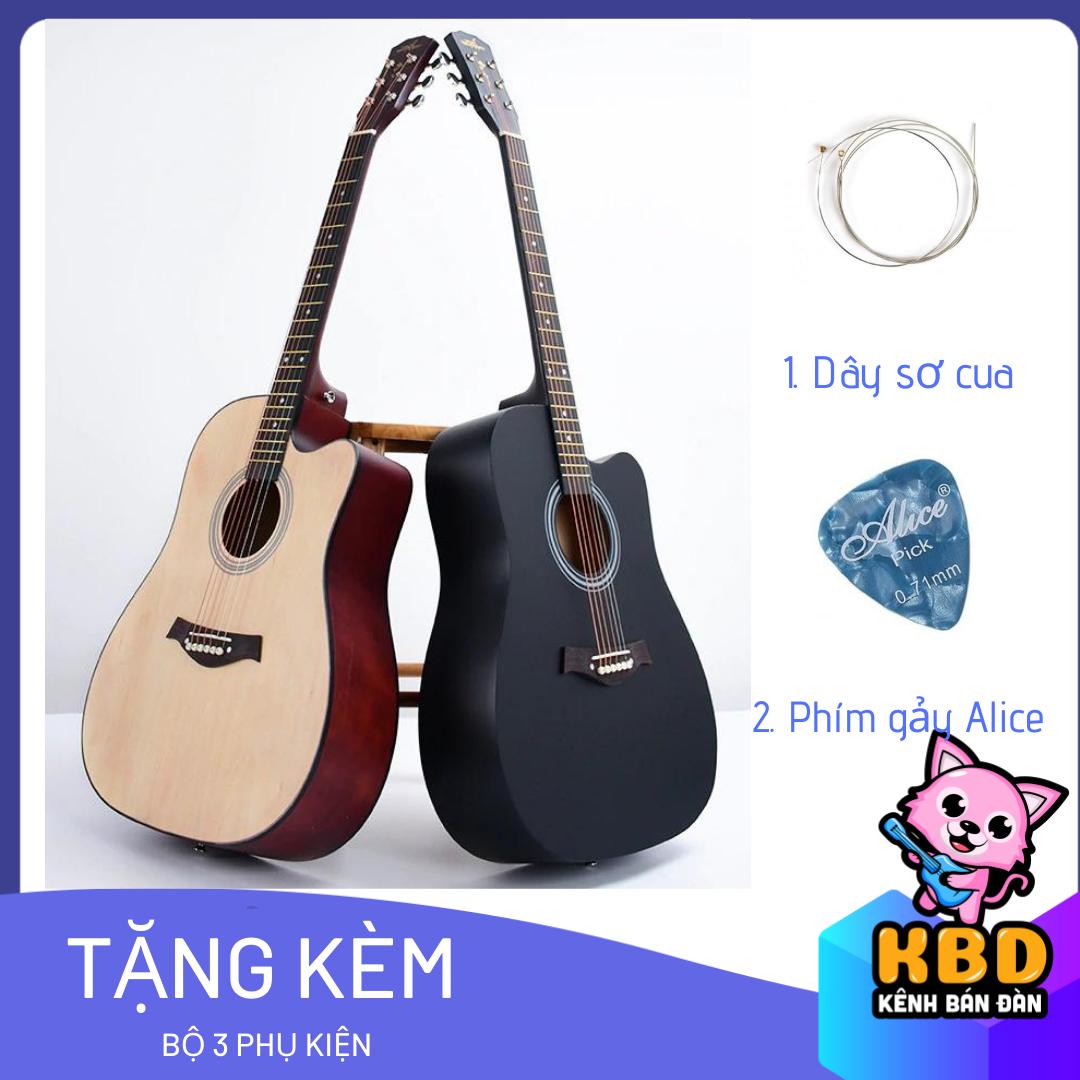 Đàn Guitar Acoustic Cao Cấp S75 Có Ty Chỉnh Cần [TẶNG KÈM KHÓA HỌC] - Gia Công Tỉ Mỉ Mang đến âm Thanh Sáng Và Vang Cùng Giá Khuyến Mãi Hot