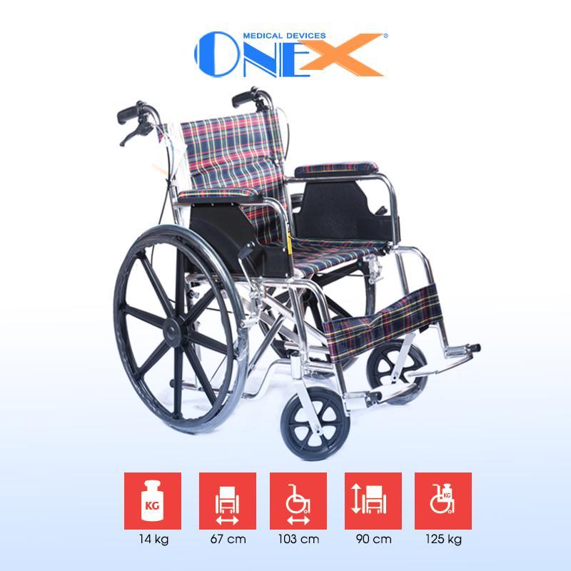 Xe lăn cho người nặng ký OneX cao cấp