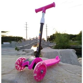 xe trượt scooter có bánh xe phát sáng - xe cân bằng - xe lắc cho bé từ 2-8 tuổi chơi thumbnail