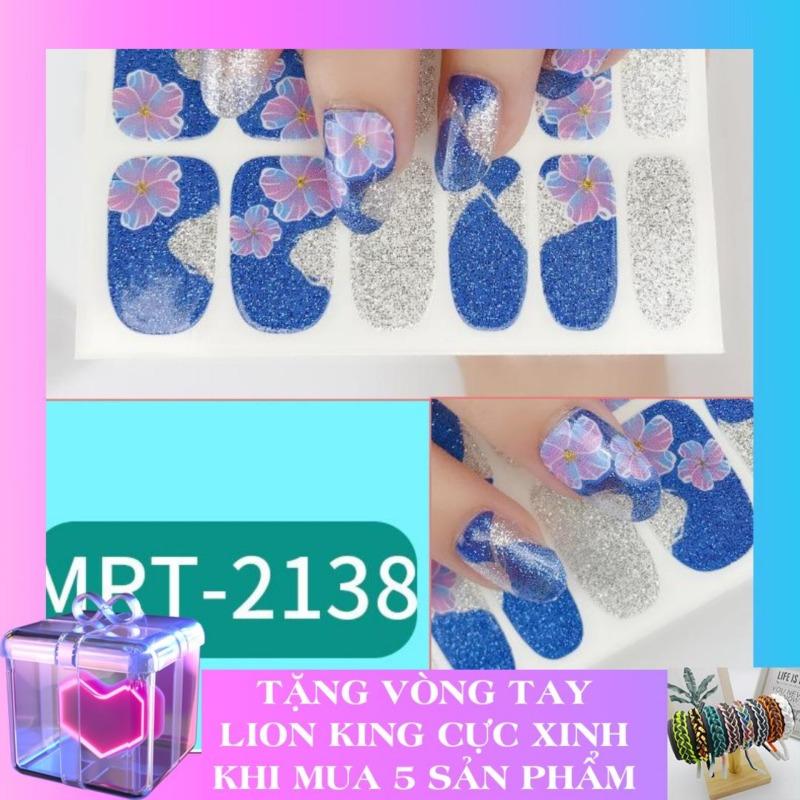 Set miếng dán móng tay Nail Sticker cao cấp