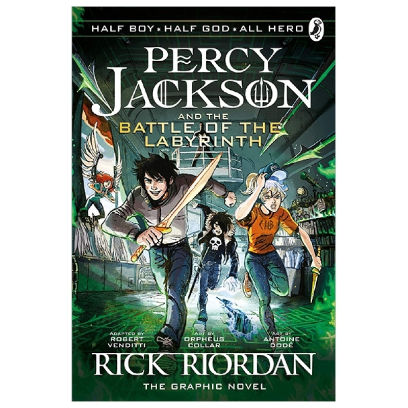 Fahasa - The Battle of the Labyrinth: The Graphic Novel (Percy Jackson Book 4)