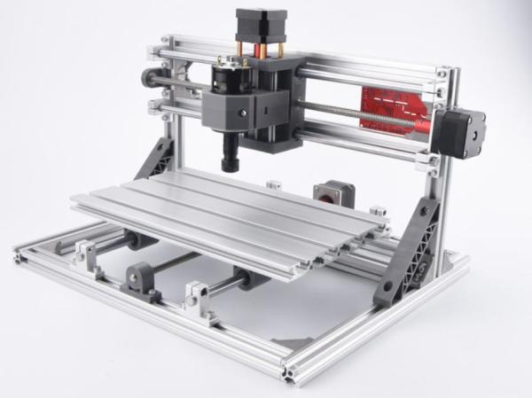 Máy Cắt, Khắc CNC 3018 Pro + 10 mũi phay PCB + 4 set plates + ER11 + đĩa chương trình + hướng dẫn Chuyên Dụng