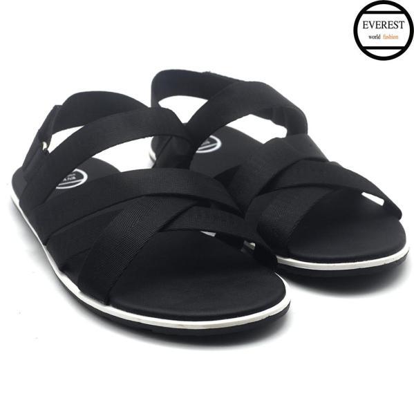 Giày sandal nam quai ngang, sandal mùa hè 2019 thời trang Everest  (Đen) A699 giá rẻ