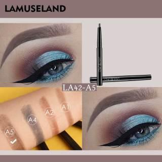 Chì kẻ mày tự động xoay LAMUSELAND không thấm nước và bền với 4 màu tùy chọn LA42 (Săn ngay voucher mua hàng giá 1K - Voucher chỉ hiển thị trên APP Lazada) thumbnail