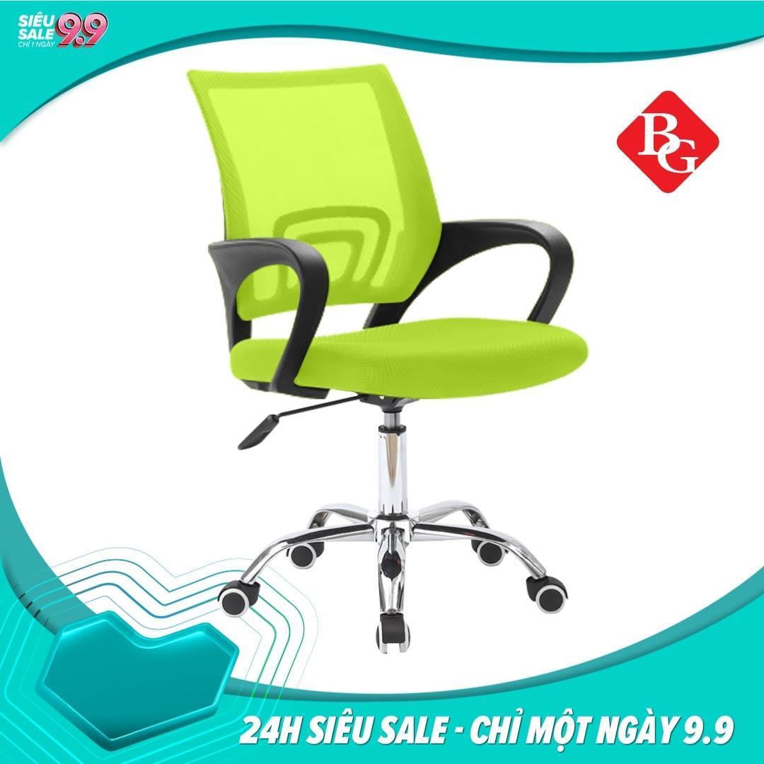 BG - Ghế lưới chân xoay văn phòng  - Mẫu B(Xanh)RẺ VÔ ĐỊCH giá rẻ