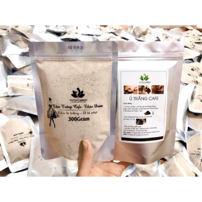 Ủ trắng cafe dùng cho mặt và body 300gr, sản phẩm tốt, chất lượng cao, cam kết như hình, inbox để được tư vấn rõ hơn
