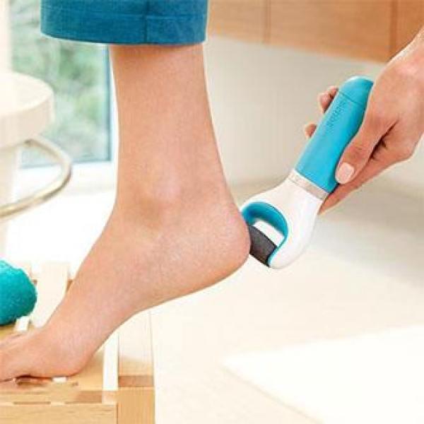 (GIAO MÀU NGẪU NHIÊN)(PIN SẠC)Máy mài gót chân cáp sạc-Máy chà gót chân tẩy tế bào chết cáp sạc tiện lợi-Dụng cụ chà gót chân-Máy chà gót chân nhập khẩu