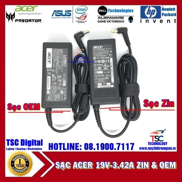 Bảng giá Sạc Laptop ACER 19V-3.42A Phong Vũ