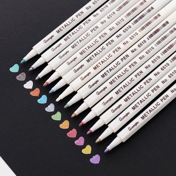 Mua Bút màu nhũ Mellatic Pen - bút đánh dấu viết trên nhiều chất liệu (đủ màu lựa chọn)