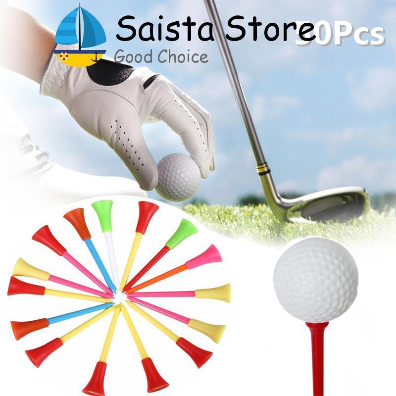 Mới 50 cái 85 mét Nhựa Golf Tee Golf Cao Su Đệm Đầu Thiết Bị Phụ Kiện-quốc tế-quốc tế - 2