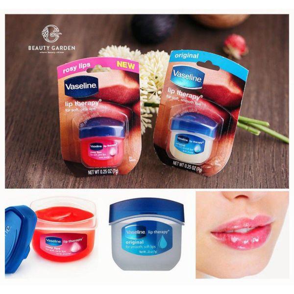 Son Dưỡng Môi Vaseline Lip Therapy 7g của mỹ  Chính Hãng giá rẻ