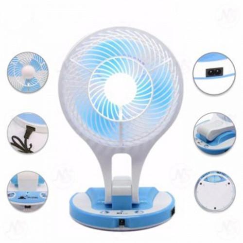 Bảng giá QUẠT SẠC TÍCH ĐIỆN CÓ ĐÈN LED MINI FAN HT-5580 (Quạt Led Mini fan HT-5580) Điện máy Pico
