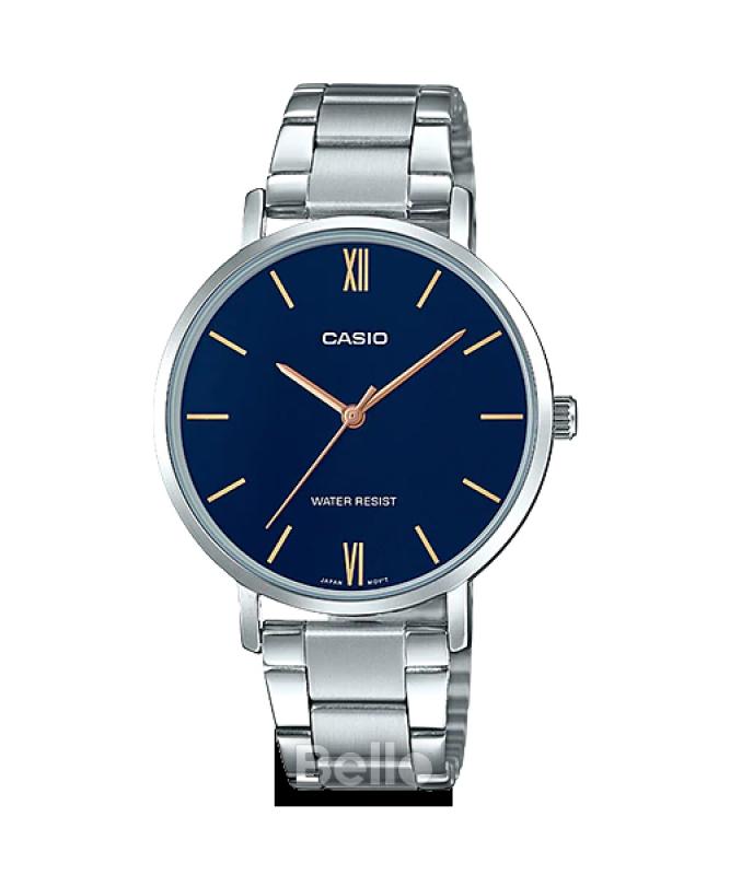 Đồng hồ Casio Nữ LTP-VT01D-2BUDF chính hãng giá rẻ - Bảo hành 1 năm - Pin trọn đời