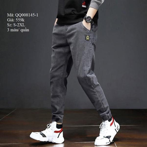Quần Jean Nam Ống Thun Cao Cấp Store 999 Phong Cách Không Nhăn TomBoy Fashion