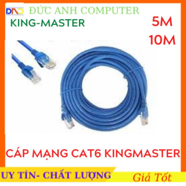Bảng giá Cáp mạng Cat6 KINGMASTER 5M/10M đúc sẵn 2 đầu Full box - Hàng Chính Hãng- Truyền Tín Hiệu Cao Phong Vũ