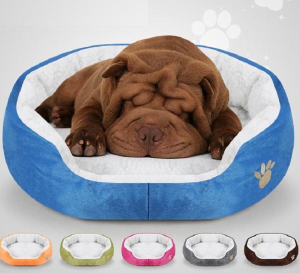 Nệm ngủ cho chó, mèo thông thoáng, ấm áp, mềm mại