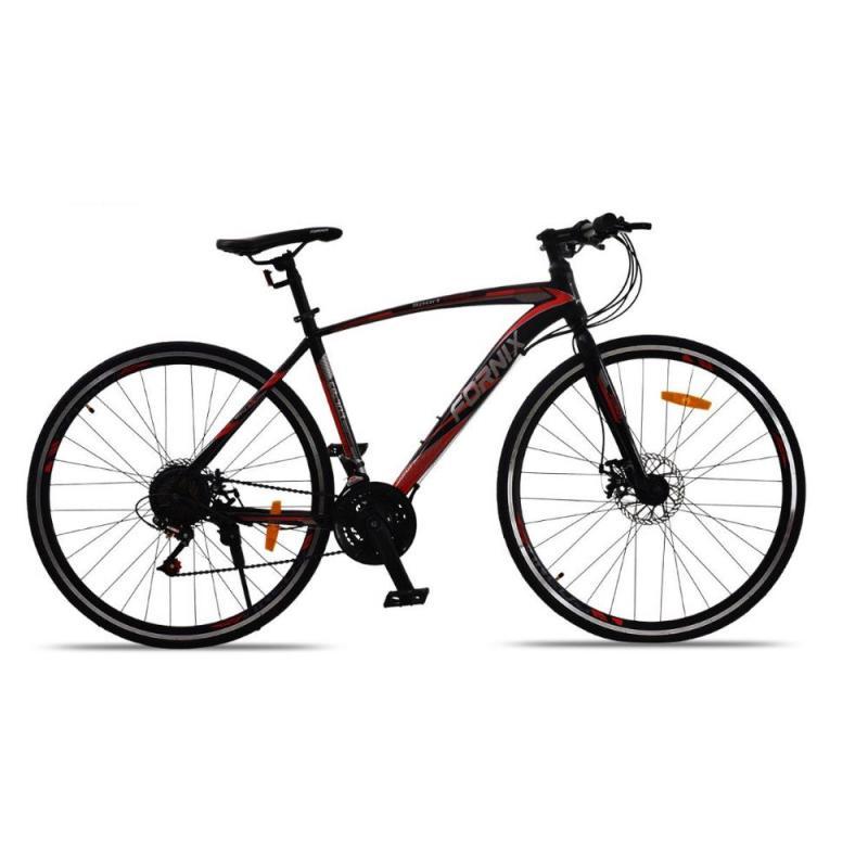 Phân phối Xe đạp đường trường FR303 màu đỏ đen chất ngầu