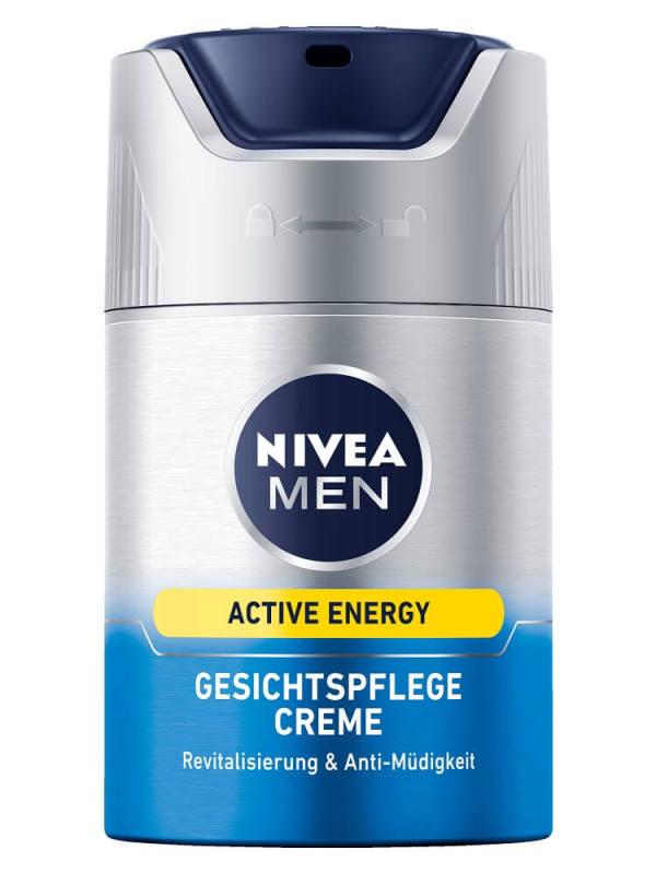 Kem Dưỡng Ngày Chống Lão Hóa Cho Nam NIVEA MEN Active Energy Gesichtspflege Creme , 50 ml