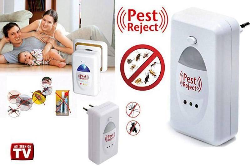 Đuổi chuột bằng sóng siêu âm - Đèn đuổi côn trùng Máy Đuổi Chuột, Gián, Muỗi...