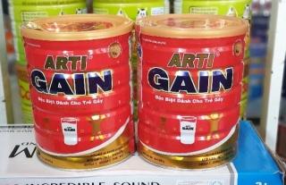 [COMBO 2 LON] Sữa Arti Gain dành cho trẻ Suy dinh dưỡng 900g (CAM KẾT CHÍNH HÃNG, DATE MỚI) thumbnail