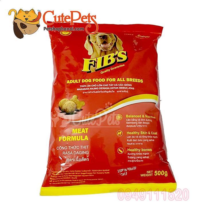 Thức ăn chó FIBS 500GR