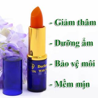 Son sâm giảm thâm môi Dorlene Thái Lan giúp dưỡng ẩm môi, bảo vệ môi khỏi các tác nhân gây hại, cho môi luôn hồng hào và mềm mịn thumbnail