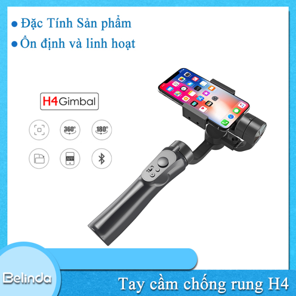 Giá Tay cầm chống rung cho điện thoại H4 VLOG Pocket - Gimbal chống rung cho điện thoại