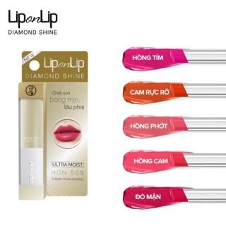 [HCM]Son nhũ trang điểm dưỡng tối ưu Lip On Lip Diamond Shine 2.2g thumbnail