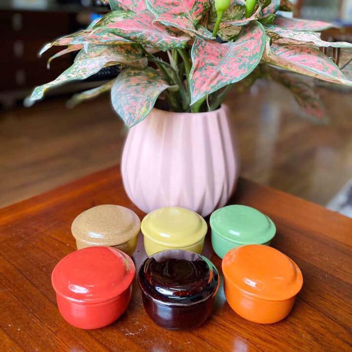Set 10 cốc sứ làm caramen , bánh plan cực đẹp